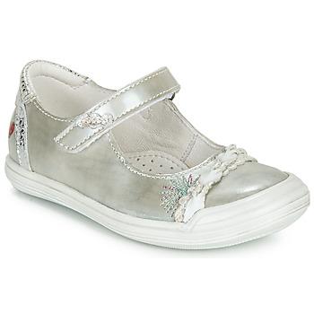 Zapatos Niña Bailarinas-manoletinas GBB MARION Plata