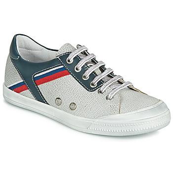 Zapatos Niño Zapatillas bajas Ramdam KAGOSHIMA Blanco / Azul