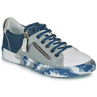Zapatos Niño Zapatillas bajas Ikks BRANDON Azul / Gris
