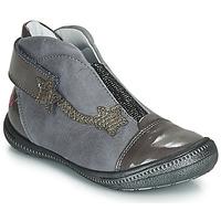 Zapatos Niña Botas de caña baja GBB NOLWENN Gris / Plata