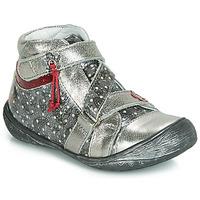 Zapatos Niña Botas de caña baja GBB NADETTE Plata