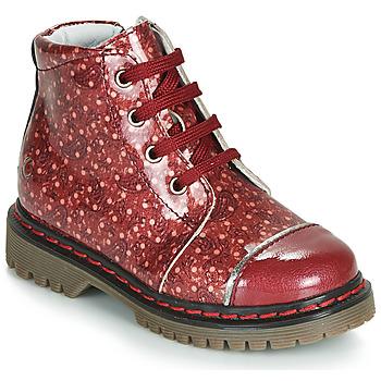 Zapatos Niña Botas de caña baja GBB NEVA Rojo