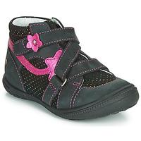 Zapatos Niña Botas de caña baja GBB NINA Negro / Rosa