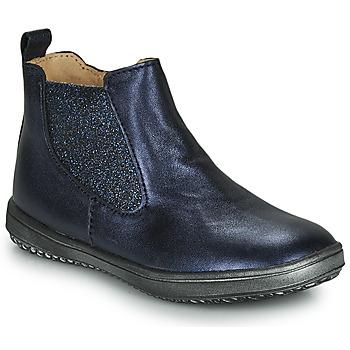 Zapatos Niña Botas de caña baja Achile SARA Marino