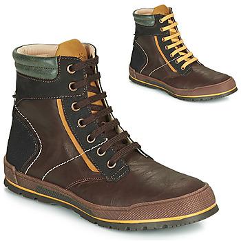 Zapatos Niño Botas de caña baja Achile MANUEL Marrón