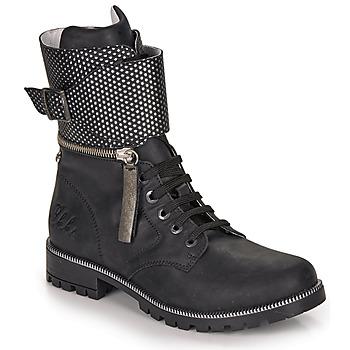 Zapatos Niña Botas urbanas Ikks PEGGY Negro