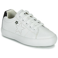 Zapatos Niña Zapatillas bajas Ikks MOLLY Blanco / Negro