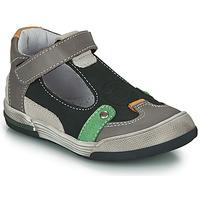 Zapatos Niño Sandalias GBB PERCEVAL Negro / Gris
