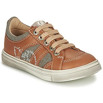 Zapatos Niño Zapatillas bajas GBB PALMYRE Cognac