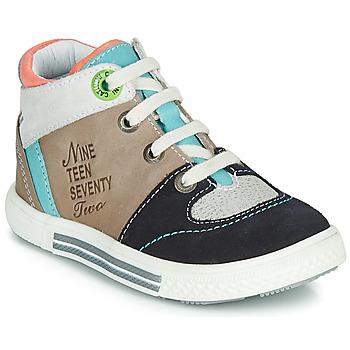 Zapatos Niño Zapatillas altas Catimini PIMENT Beige