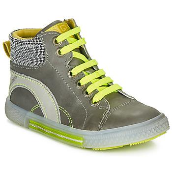 Zapatos Niño Zapatillas altas Catimini PAPYRUS Gris