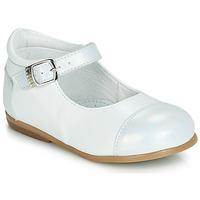 Zapatos Niña Bailarinas-manoletinas GBB BELISTO Blanco