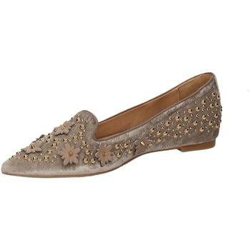 Zapatos Mujer Bailarinas-manoletinas RAS VELLUTO sand-sand