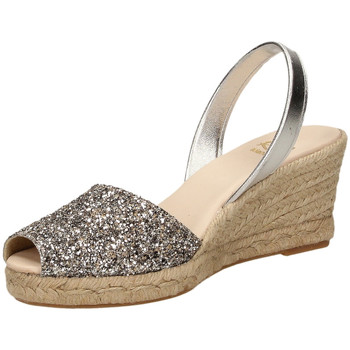 Zapatos Mujer Zuecos (Clogs) Ria GLITTER FUNNY Nº 1 plata-argento