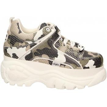 Zapatos Mujer Zapatillas bajas Buffalo 1339-14 LEATHER camouflage