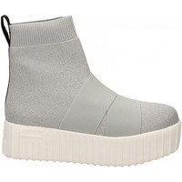 Zapatos Mujer Zapatillas altas Fessura HI-LINE KNIT silver-ice