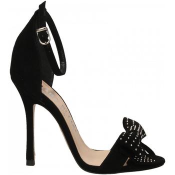 Zapatos Mujer Sandalias Marc Ellis CAMOSCIO nero