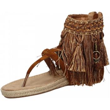 Zapatos Mujer Sandalias La Carrie INDRADITO C.FRANGE brown-marrone