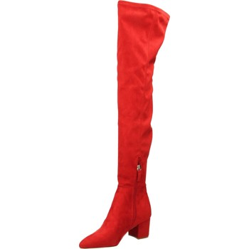 Zapatos Mujer Botas a la rodilla Steve Madden BOLTED red-rosso