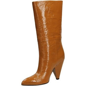 Zapatos Mujer Botas urbanas Giampaolo Viozzi CONO NAPLACK whisk-whisky