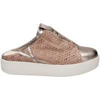 Zapatos Mujer Zuecos (Mules) Andia Fora CINDY GLOSSY accro-rosa