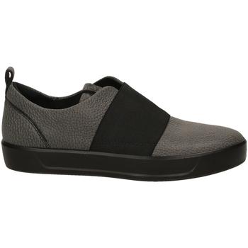3ecf3e72b Zapatos Mujer Slip on Ecco SOFT 8 L SHINEBRIGHT black-nero