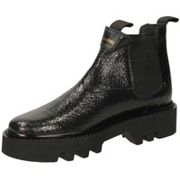 Zapatos Mujer Botines Panchic ROCCIA BEATLES CRACK black-nero