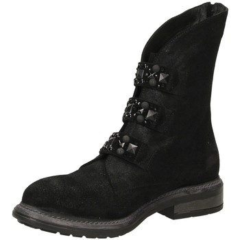 Zapatos Mujer Botas de caña baja Poesie Veneziane BLITZ nero-nero