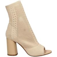 Zapatos Mujer Sandalias Tiffi  crema-crema