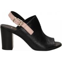 Zapatos Mujer Sandalias Lemaré FIESOLE nero-rosa-3390