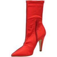Zapatos Mujer Botines Giampaolo Viozzi RASO DESTINO rosso-rosso