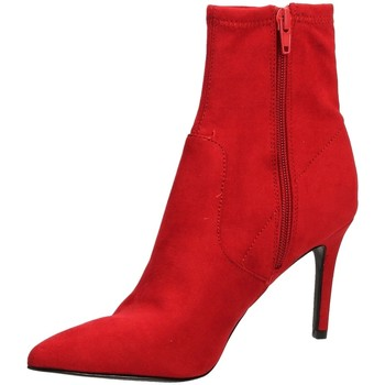 Zapatos Mujer Botines Steve Madden LAVA MICROSUEDE red-rosso