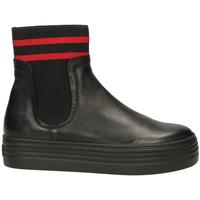 Zapatos Mujer Botas de caña baja Tosca Blu BARROW c99-nero
