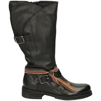 Zapatos Mujer Botines Felmini TARGOFF 18 nero-nero