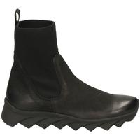 Zapatos Mujer Botas de caña baja Fabbrica Dei Colli READY FOND.TESSUTO 00282-nero