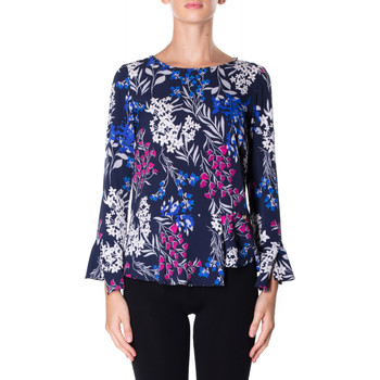 textil Mujer camisas Luckylu BLUSA STMPA CON PENN 0405-navy