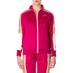 textil Mujer sudaderas Kappa BANDA 10 ANAY 906-rosso-bianco