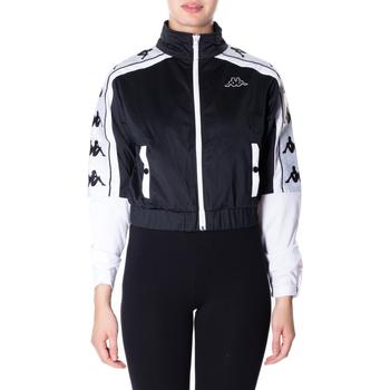 textil Mujer sudaderas Kappa BANDA 10 ANTEY 903-nero-bianco