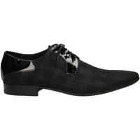 Zapatos Hombre Derbie Edward's NINO FENICE nero-nero