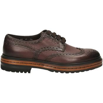 Zapatos Hombre Derbie Santoni DERBY 4F.C.RONDINE D irs56-marrone