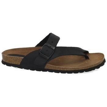 Zapatos Mujer Zuecos (Mules) Interbios Chanclas esclava bio Negro