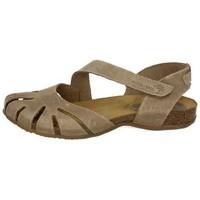 Zapatos Mujer Sandalias Interbios Cangrejera interbios Beige