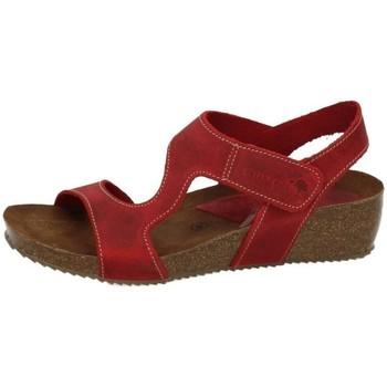 Zapatos Mujer Sandalias Interbios Sandalias piel bios Rojo