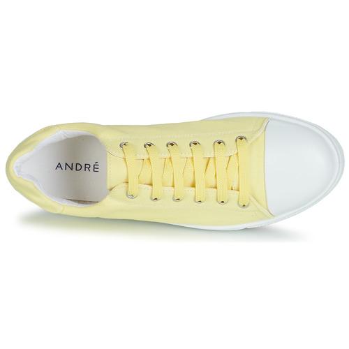 André Zapatos Amarillo Zapatillas Samana Bajas Mujer 3jqLcAR54