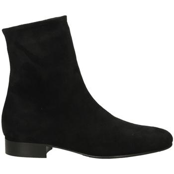 Zapatos Mujer Botas de caña baja Lorenzo Masiero STRECH VELOUR nero-nero