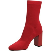 Zapatos Mujer Botines What For JACK red-rosso