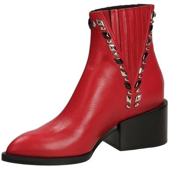 Zapatos Mujer Botines Giampaolo Viozzi MAXIME scoot-rosso