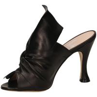 Zapatos Mujer Zuecos (Mules) Mivida NAPPA nero-nero