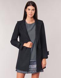 textil Mujer Abrigos Casual Attitude LYSIS Marino