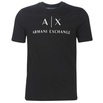 textil Hombre Camisetas manga corta Armani Exchange 8NZTCJ-Z8H4Z-1200 Negro
